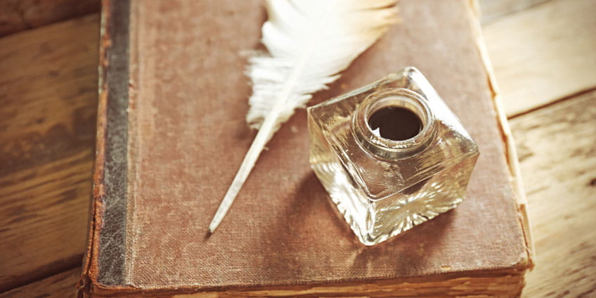 Feather quill