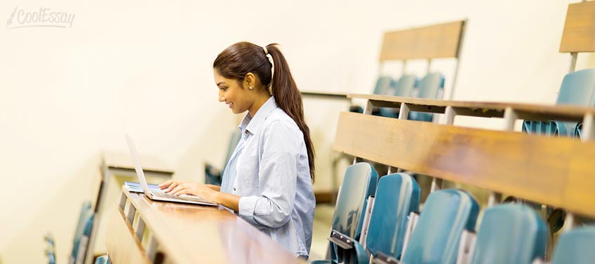 Student at Lecture